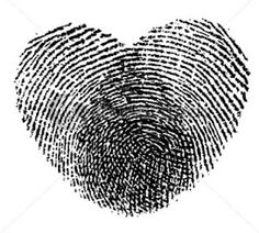 I love the idea of our fingerprints together for the heart. . . Even if not for a tattoo lol