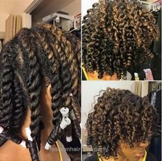 Naturel Hair Care : Cute Twist And Curl Shared By IG: TheOther_QueenB - community. Pelo Natural, Natural Hair Tips, Natural Hair Journey, Natural Hair Styles, Natural Girls, Twisted Hair, Twist Curls, Pelo Afro, Natural Hair Inspiration