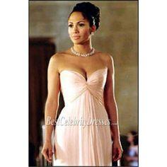 Jennifer Lopez Pink Dress   Jennifer Lopez Pink Strapless Prom Dress In movie 'Maid In Manhattan ...
