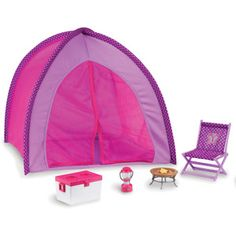 My Life As Camping Doll Accessory Set: Dolls Dollhouses : Walmart.com
