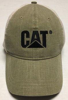 a15e40266366f Caterpillar CAT Hat Machinery Baseball Cap Equipment Construction  Agriculture