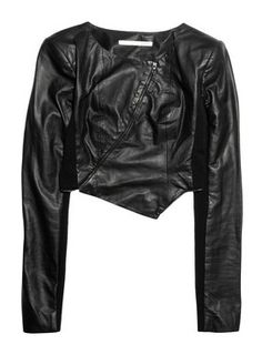 """Willow """"Cropped Leather Jacket"""""""