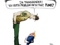 (X-Post r/LGBT) You gotta problem with that punk? [Steve Benson Arizona Republic]