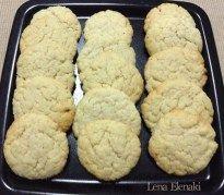 Cookies λεμονιού - Dairy-Free