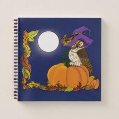 Miss Pumpkin Notebook - diy cyo personalize design idea new special custom