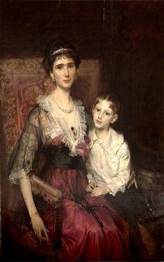 Portret Marii Ludwiki Czartoryskiej