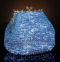 Ice blue bling purse....anbenna