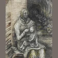 henry moore bomb shelter drawings - Google Search