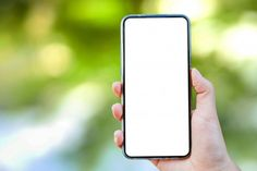 Mockup Of A Hand Holding A Blank Screen Of Smartphone Actor Bio, Smartphone, Holding Hands, Hand Holding, Notebooks, Scenery Wallpaper, Free Photos, Mockup, Hold On