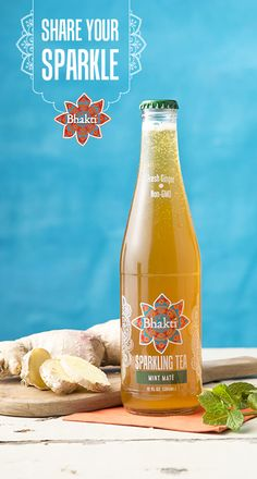 Fresh mint and earth mate are a match made in heaven! Try bubbly bliss in a bottle today at your local Whole Foods.