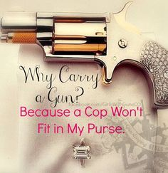 A little #gunhumor for the ladies. All the more reason to own #firearms!