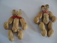 Peanut Bear Ornaments from Almost Unschoolers
