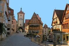 Rothenburg ob der Tauber  (been there!)