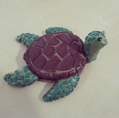 Tortuga marina... #fimoclay #tortoise #fimocreations #fimoart #fimocharms…
