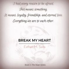 Eternal Love, My Heart Is Breaking, Friendship, Books, Libros, Book, Book Illustrations, Libri