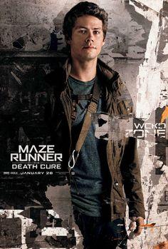 Dylan O'brien /Thomas  Maze Runner: Death Cure