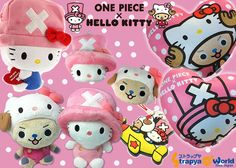 Hello Kitty x One Piece collection ^__^