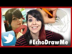 Drawing My Twitter Followers - YouTube