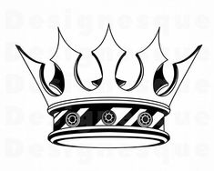 King Crown Tattoo, King Queen Tattoo, Crown Tattoo Design, King Tattoos, Crown Tattoos, Bull Tattoos, King Crown Drawing, Facebook Featured Photos, Crown Art