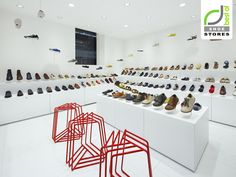 Camper does a great job with their retail stores   - Camper shoe store by Nendo, Osaka store design
