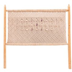 Check out the deal on Handmade Macrame Headboard with Crystals at Eco First Art