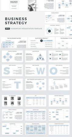 Business Presentation Templates, Business Plan Template, Presentation Design, Action Plan Template, Marketing Plan Template, It Management, Business Management, Business Planning, Business Marketing