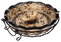 Temp-tations Pie Dish w/Pie Bird Vent and Wire Rack (Floral Lace Cranberry) Pie Tin, Wire Racks, Tart Pan, Ceramic Birds, Pie Plate, Decorative Bowls, Pottery, Qvc, Hand Painted