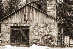 Title  Stone Cabin 2  Artist  Judy Wolinsky  Medium  Photograph - Photography