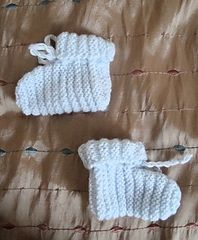 Ravelry: Baby Booties pattern by Meredith Y.