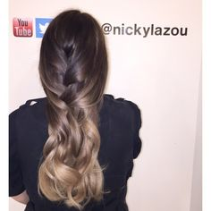 "319 Likes, 14 Comments - Nicky Lazou (@nickylazou) on Instagram: ""Love doing fades #balayage#ombre#toffee#nickylazou#dubai#kuwait#saudi"""
