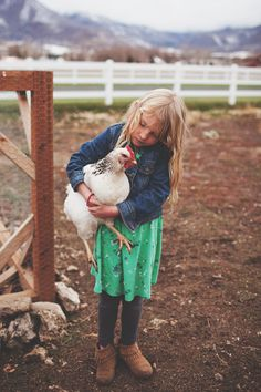 chickens 101 by The Little Red House. Country Life, Country Girls, Fashion Fotografie, Little Red, Little People, Farm Animals, Cute Kids, Kids Fashion, Daughter