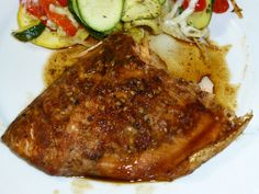 Happily Ever After - One Fat Girl's Journey to Getting Healthy: BBQ Salmon