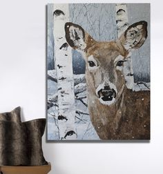 Up the wall creates custom artwork and wall murals. Artist Michelle Wenger is a mural painter toronto. She creates beautiful artwork and custom murals for your home, business or children. Wildlife Paintings, Room Themes, Beautiful Artwork, My Children, Wall Murals, Moose Art, Plaster, Canvas, Acrylics