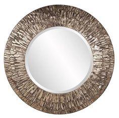 Linden Round Mirror - Howard Elliott
