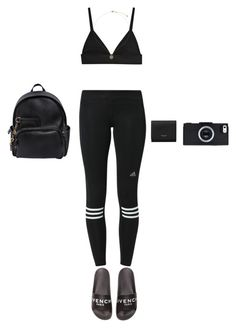 """""""Untitled #210"""" by ayanna-holmes29 ❤ liked on Polyvore featuring adidas, Topshop, Yves Saint Laurent, Givenchy and Dsquared2"""