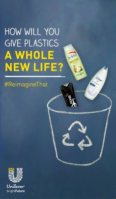 1,2...5: The three magic numbers of recycling your bathroom plastics. Just look for these numbers in three-arrow recycling symbols on the backs and bottoms of your bottles, then rinse, recycle and reimagine them into a whole new life. #ReimagineThat #partner