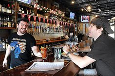 Warehouse Grille is a neighborhood bar catering to regulars in the Warehouse District.
