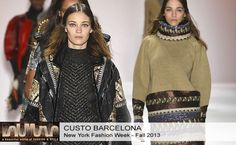 Custo Barcelona Fall 2013 #Collection #Fashion #BelleMonde #Style