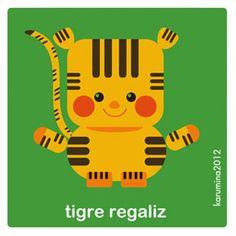 Tigre regaliz/licorice tiger