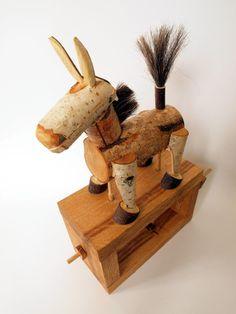 Snapping mule automata  by Lisa Slater