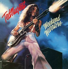 25 Greatest Hard Rock and Heavy Metal Album Covers ~ great cover, great player, fair songwriter, right~wing whack job! Greatest Album Covers, Rock Album Covers, Classic Album Covers, Bruce Dickinson, Heavy Metal, Heavy Rock, Rock And Roll, Classic Rock Albums, Musica Disco