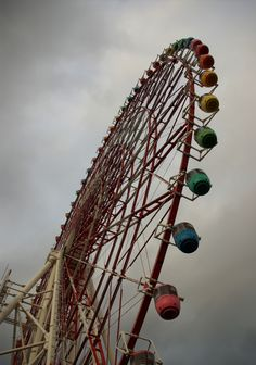 I went on this ferris wheel allllll alone, but it was quite relaxing!  Odaiba, Tokyo