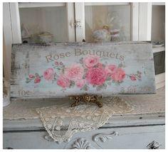 Rose Bouquets 3 for 25 Cents - Debi Coules Romantic Art