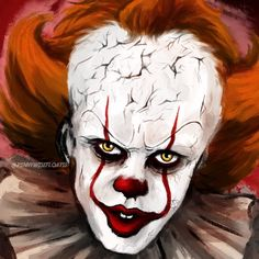 734 Me gusta, 12 comentarios - 🎈Pennywise Art Horror Drawing, Pennywise The Dancing Clown, Clowns, Horror Movies, Stranger Things, I Am Awesome, Addiction, That Look, Cinema