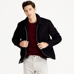 J Crew Quad Wool Jacket