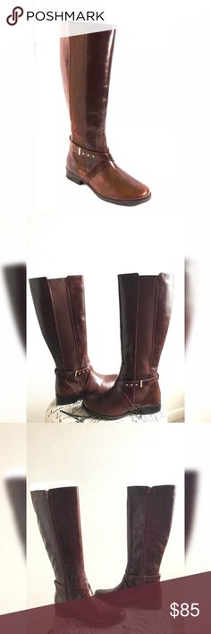 "💫NEW💫Steve Madden Wide Calf Riding Boots💫 💫Steven By Steve Madden Wide Calf Riding Boots💫Brand New💫Never worn💫 Leather Material💫Cognac Color💫Size 8W True to size💫17""shaft💫16.5""calf circumference💫1""heel💫Smoke and pet free home💫No trades💫Ships same/next day💫 Steven By Steve Madden Shoes"