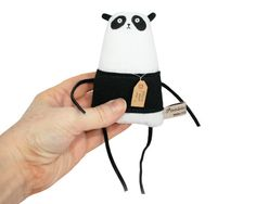 Panda Miniature Art Doll by Poosac