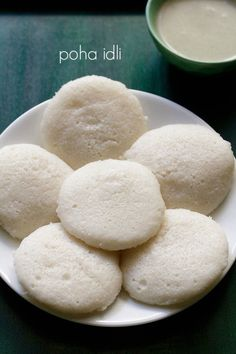 poha idli recipe with step by step pics – soft, light and fluffy idlis made with poha (parched rice), rice and urad dal.  #idli