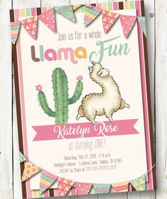 Quinceanera Party Planning – 5 Secrets For Having The Best Mexican Birthday Party Mom Birthday Gift, First Birthday Party Themes, Llama Birthday, Summer Birthday, Girl First Birthday, Birthday Party Invitations, Party Favors, Birthday Ideas, Turtle Birthday