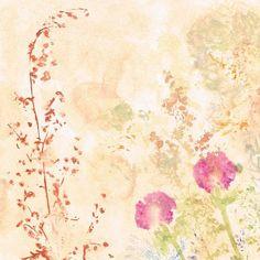 Fragrant Garden botanical fine art print | Felt Painting & Drawing, Fine Art Prints, Felt, Paintings, Drawings, Garden, Image, Felting, Garten